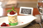 Cassata with Berry Compote